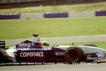 Williams FW23 BMW Ralf Schumacher. Silverstone testing 2001. Photo A